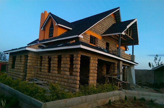 Roofing Tile Kenya Classic Black Roofing Tiles