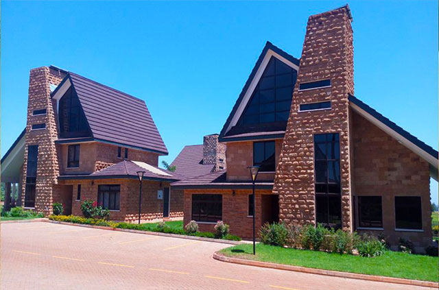 Roofing Tile Kenya Classic Maroon Roofing Tiles