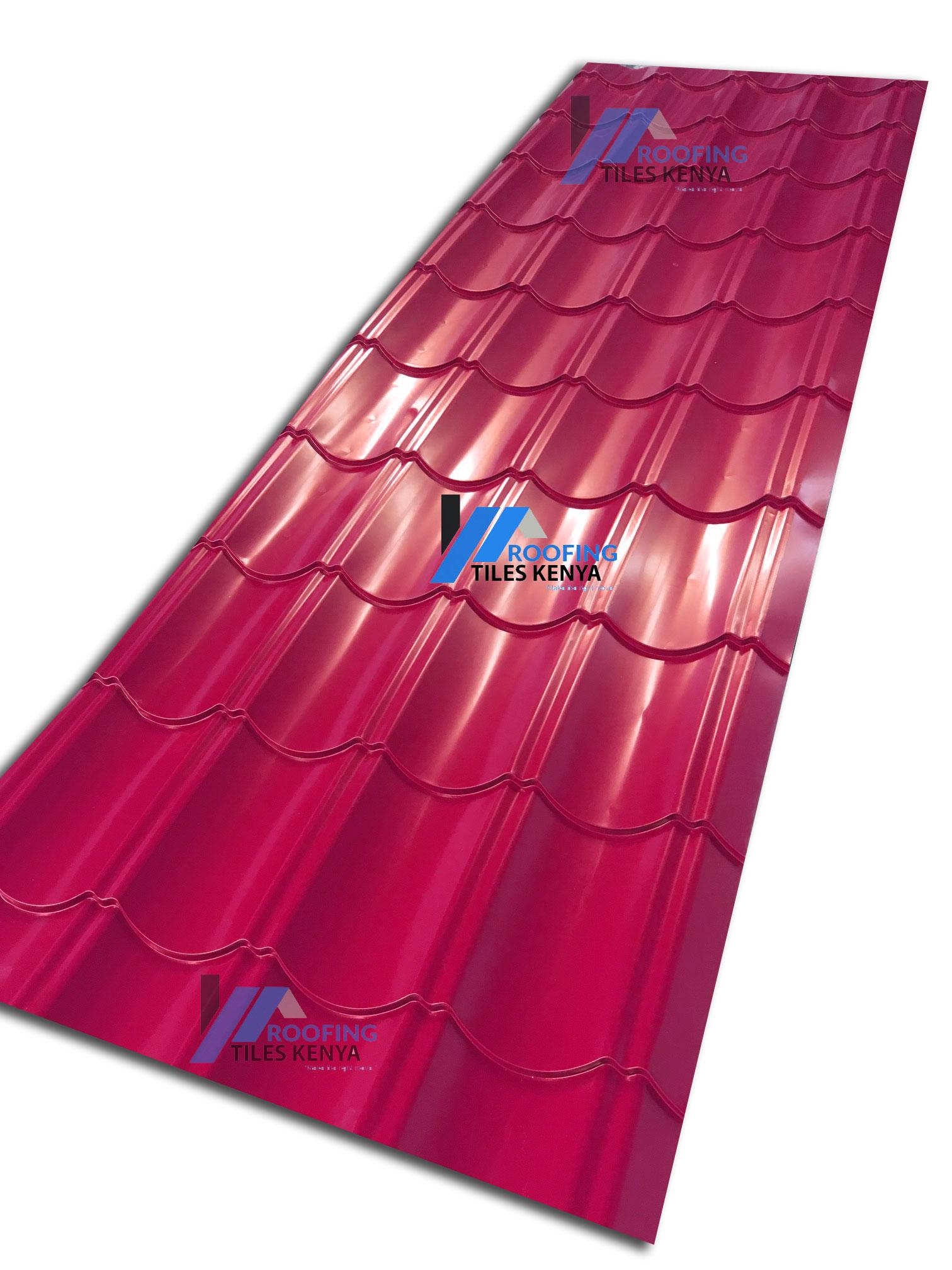 Maroon Versatile Roof- Roofing Tiles Kenya