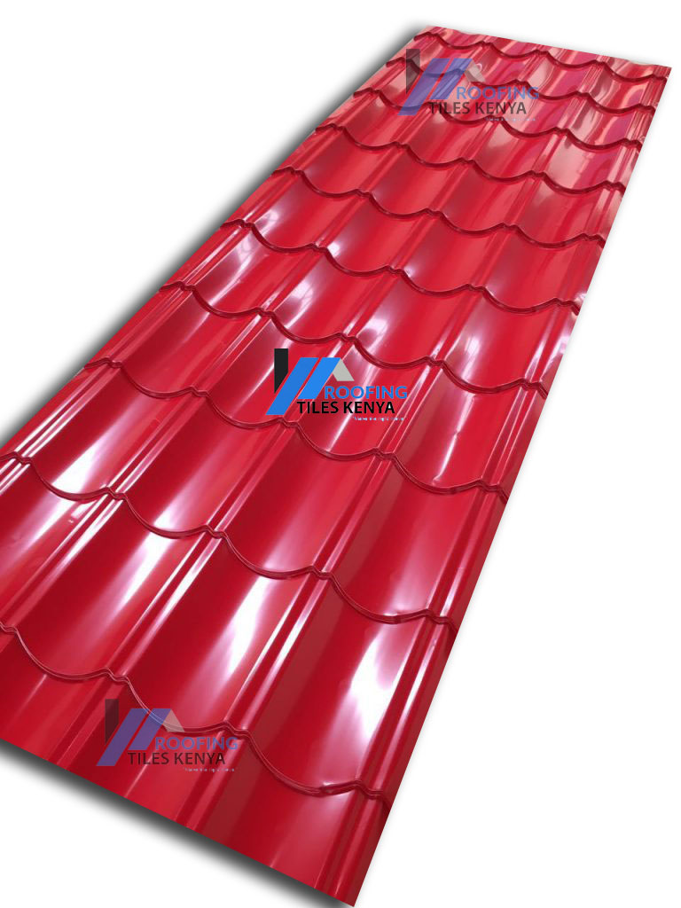 Red Versatile Roof- Roofing Tiles Kenya