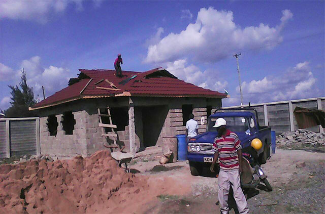 Tiles Roofing Tiles Kenya Brown Classical Tiles Installation