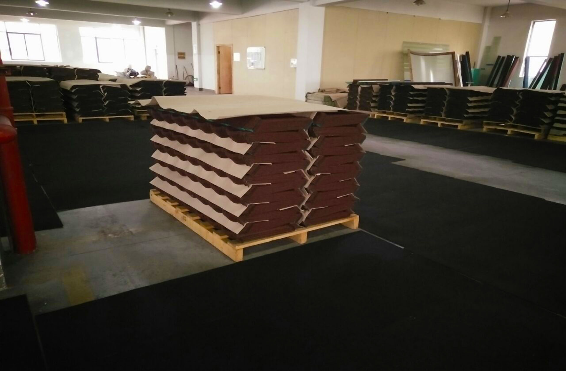 Tiles Roofing Tiles our warehouse at industrial area
