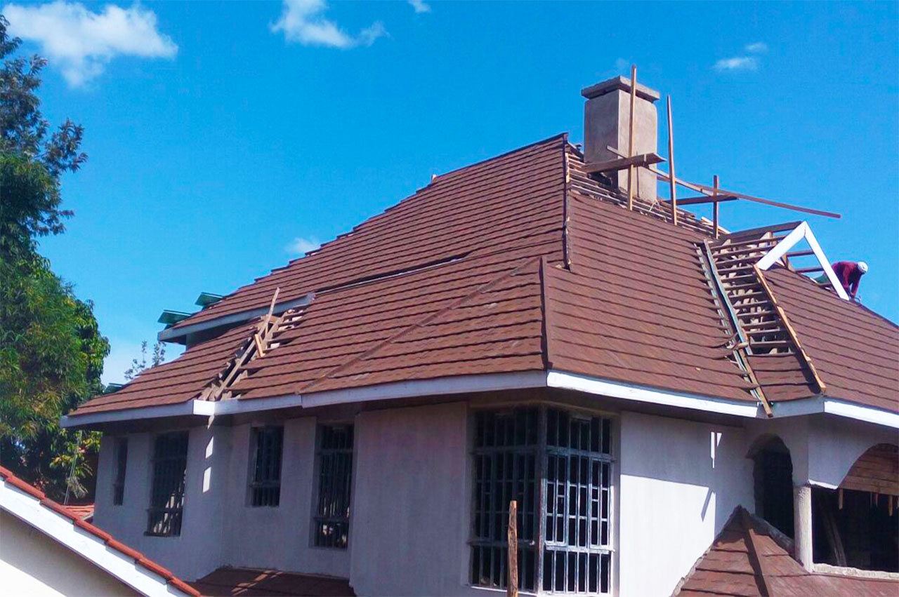 Tiles Roofing Tiles Kenya Classic roof Picture